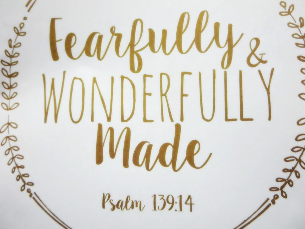 Fearfully and Wonderful, Woven Beautiful